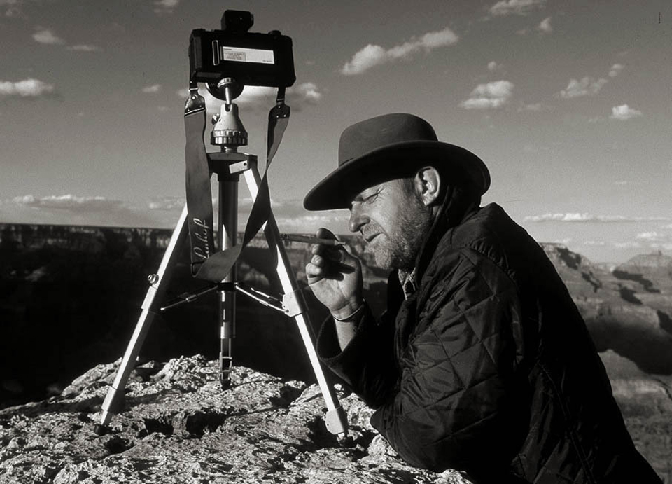 Autoportrait Frantisek Zvardon - Grand Canyon, Californie