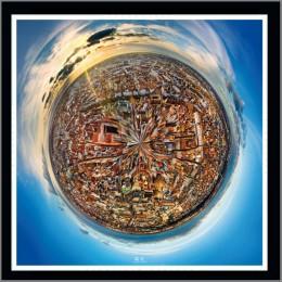 Strasbourg en 360 ° Affiche